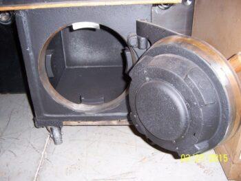 """1"""" plate steel, Lug door, Diebold,"""