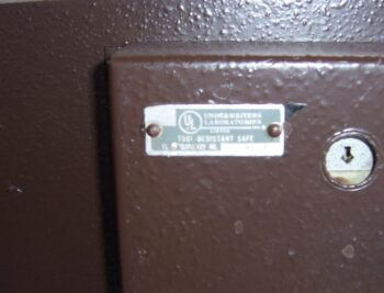 TL-15, used safe, Gary safe, one inch plate steel safe.