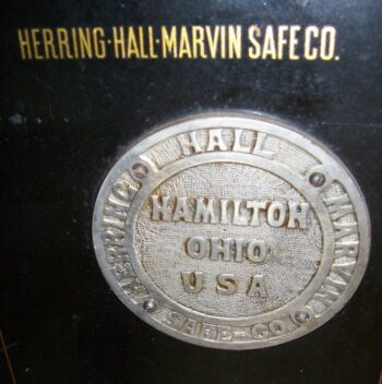 Herring-Hall-Marvin Safe Co., Antique Safe, Sable Safe,
