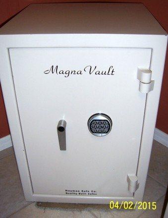 Magna Vault, Home safe, Jewelry safe, Custom interior, Electronic lock, Hayman Safe Co. Burglary safe