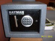 Utility Safe  Hayman  GPS-12B