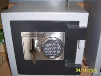 Utility Safe, Electronic lock, Hayman Safe Co.