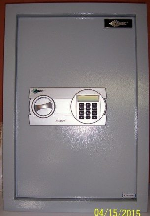 Amsec,Wall safe, large interior, Electronic lock,