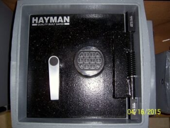 In the Floor Safe,floor safe,Hayman,Electronic lock