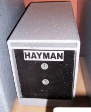 Drop Safe  Hayman L-1B  ( under the Counter Safe)
