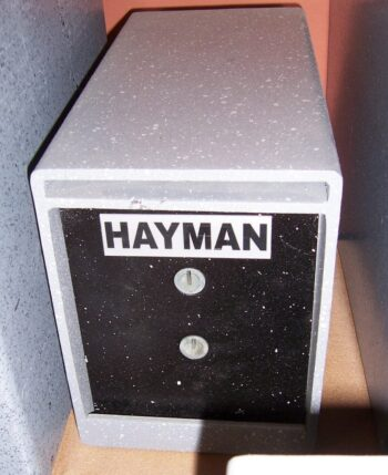 Drop safe, Drop slot, Key lock, Hayman
