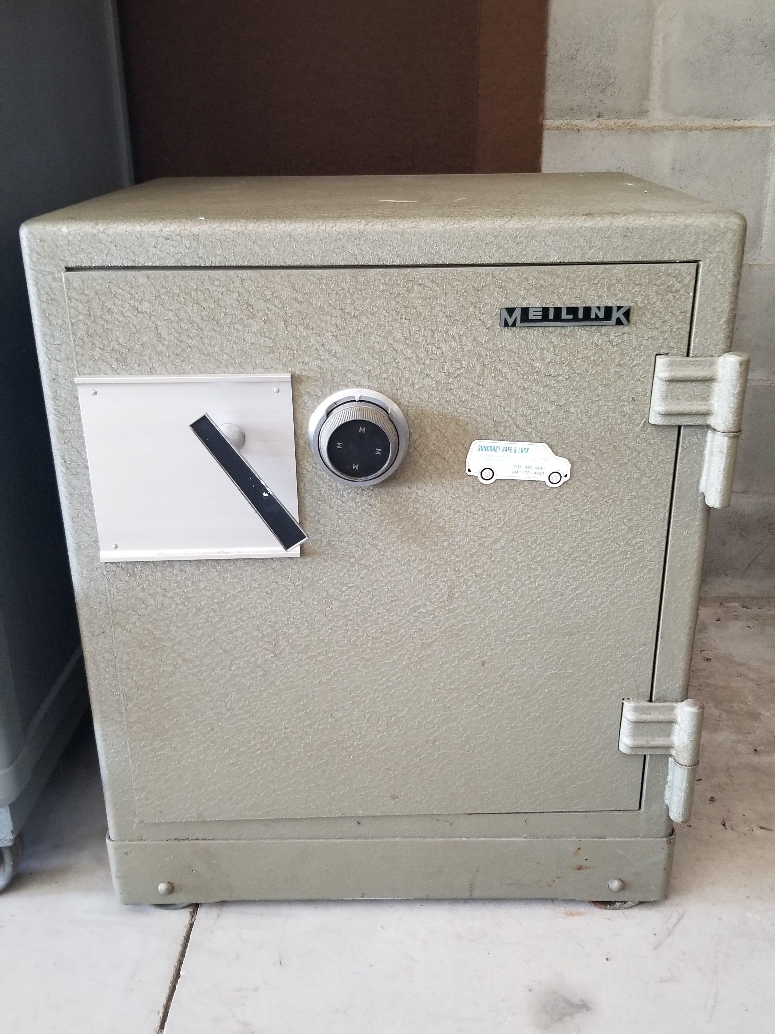 Meilink 1 Hour Fire Safe Suncoast Safe Lock