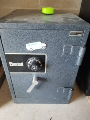 Gardall safe, fire safe, mechanical dial