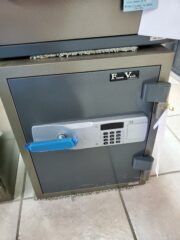 Flame Vault, Electronic lock, records safe