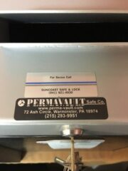 permavault, business safe, drop slot, key operated