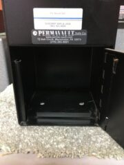 Permavault, cash drop, under the counter safe, business safe, key operated