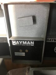 hayman, depository safe, rotary hopper, cash drop, key operated