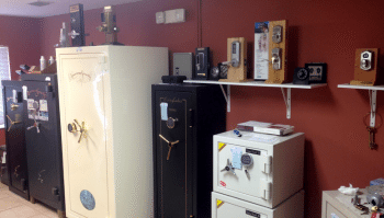 Suncoast Safe & Lock Showroom