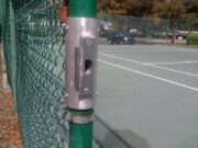 Tennis Court Gate Custom Strike Plate