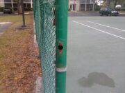 Tennis Court Gate - Before