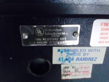 Ul label Tl-30, jewelers safes, used safe, burglary safe, safe moves, counter safe