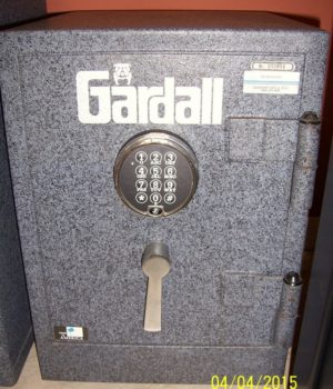 Gardall, Records safe, Fire safe, Electronic lock, Home Safe
