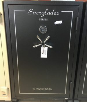 gun safe, hayman, everglades, 1 hour fire protection, fire safe, burglary safe