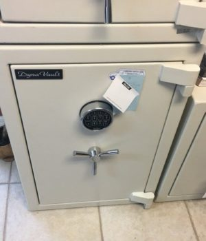 Dyna vault, burglary safe, fire protection, electronic keypad