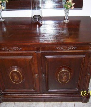Antique Safe, Furniture safe,Herrings and Ferrel, Dexter,