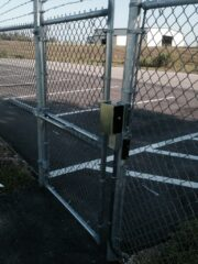 remotely controlled electrified gate