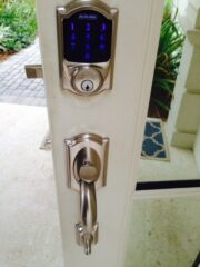 Electronic Deadbolts installed on a Home on Siesta, Key