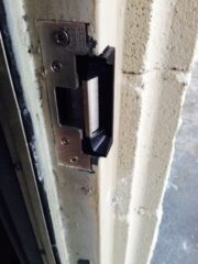 door hardware upgrade for exterior door